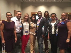 With my Diversity Executive Leadership Program colleagues at ASAE Annual Meeting, Salt Lake City, UT, 2016.