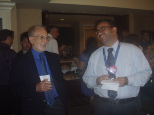 Ray Fowler with Nabil El-Ghoroury, 2010 APA Convention, San Diego, CA