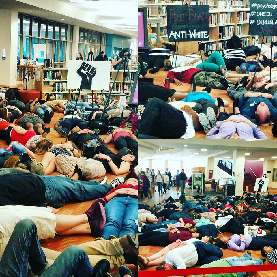 Die-In, U of Denver