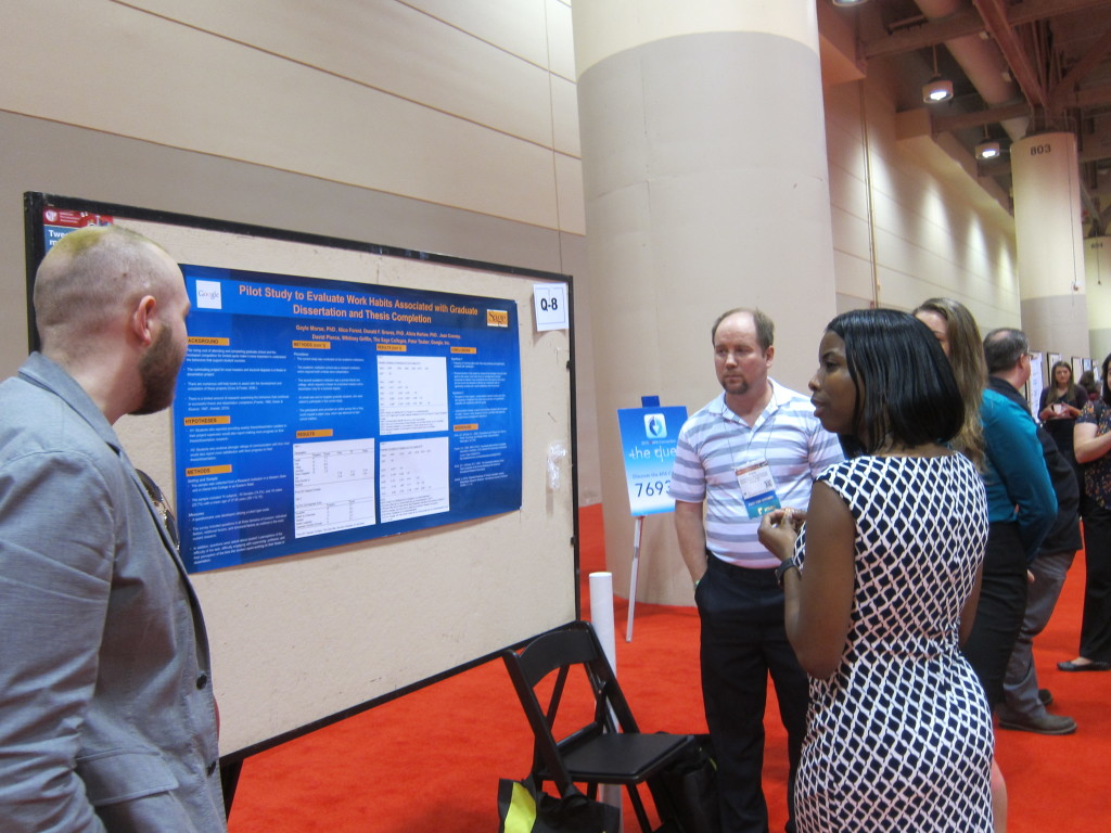 APAGS Poster Session at the 2015 APA Convention in Toronto.