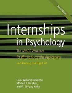 Internships in Psychology Workbook