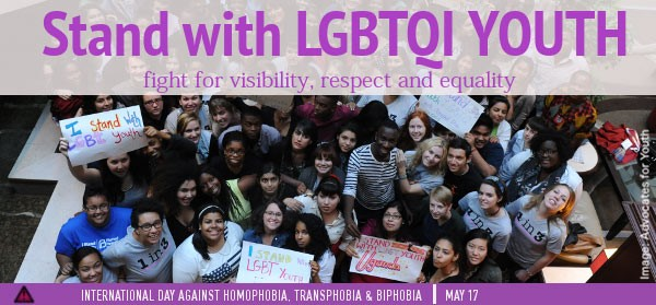 Stand with LGBTQI youth